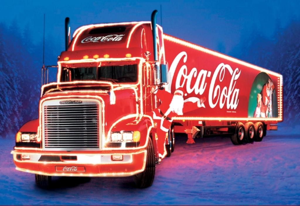 Coca-Cola-Christmas-Truck-Wallpaper