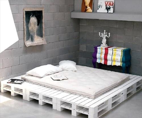 Pallet bed frame 31